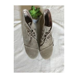 TOMS kala women's lace-up boots desert Taupe